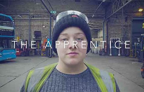 Business Video shot by Nottingham Video production company about Nottingham City Transit Apprentice bus mechanic.
