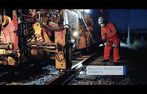 Railways Engineering business video for Harsco Rail