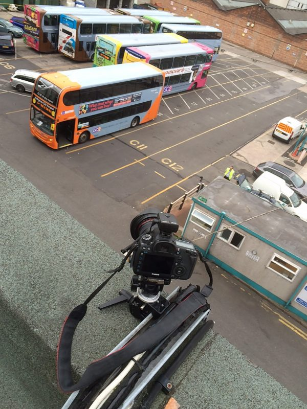 Timelapse camera in Nottingham