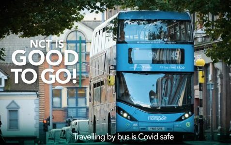 transport covid safety video for social media and online use.