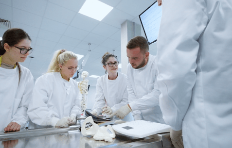 Business Case Study Video for LEEC UK Human anatomy Lab