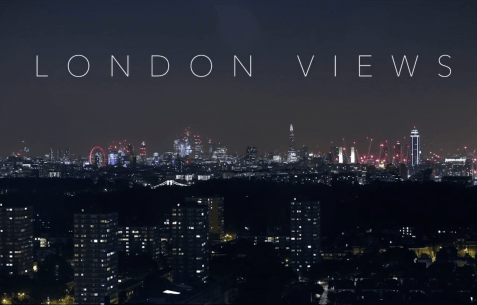 Preview shot for London views time-lapse video