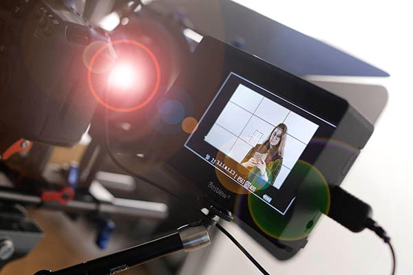 tips for appearing on camera in a business video